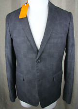 HUGO BOSS ORANGE  SAKKO BILKES 48 BLACK HANDCRAFTED SLIM FIT JACKET BLAZER JACKE