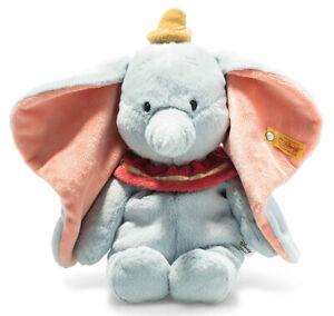Steiff cuddly Disney Dumbo - plush cuddly babysafe elephant soft toy - 024559
