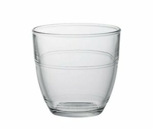 DURALEX GIGOGNE Clear Toughened Glass Tumbler Microwave safe 22cl Pack of 6 UK
