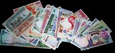 100 Different world banknotes-money currency bills
