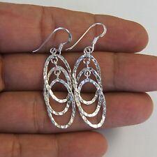 925 Sterling Silver Lovely Earrings Thai