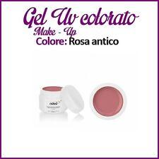GEL UV NAIL ART COLORATI  RICOSTRUZIONE UNGHIE NAILS MAKE-UP 5ML ROSA ANTICO
