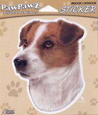"""Jack Russell Terrier Decal Bumper Sticker 4.5"""" Outdoor/Indoor"""