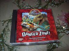 Jurassic Park 3-Danger zona PC rarità!!! dinosauri per il PC