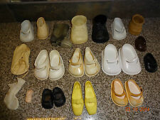 Vintage LOT of 5 Doll Shoes Pairs and Singles - Fairyland Toy - Cinderella - USA