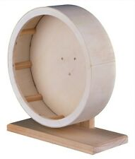 Trixie 60923 Wooden Exercise Wheel L 28 Cm (for Hamsters Degus)