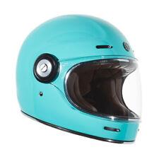 Torc T1 Retro Full Face Tiffany Gloss Blue DOT ECE Motorcycle Sport Bike Helmet