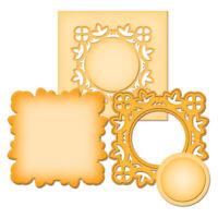Medallion Two Spellbinders D-Lites Die Set S2-013 NEW!