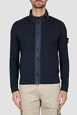 Stone Island Nylon Metal Cardigan In Navy BNWT