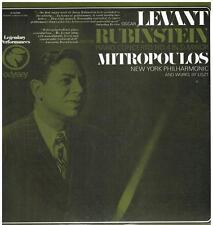 Rubinstein Anton: Concerto No 4 / Mitropoulos, Oscar Levant, New York Phil. - LP