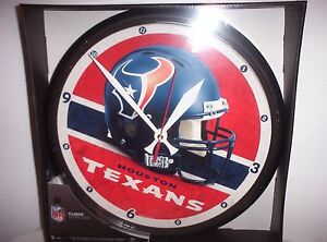 """Houston Texans 12"""" Round Wall Clock by Wincraft"""