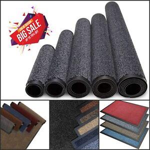 Heavy Duty Non Slip Rubber Back Barrier Door Mat Kitchen Hallway Floor Rug Mats