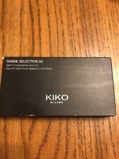 KIKO Milano Shade Selection 03 Empty Eyeshadow Palette Ships N 24h