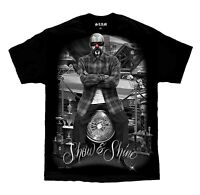 Show & Shine Clown Lowrider Show Homies Chicano Art David Gonzales DGA T Shirt