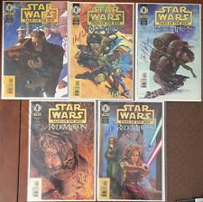 Star Wars: Tales Of The Jedi - Redemption (1998) #1-5 - Signed By Kevin Anderson