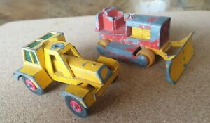 MATCHBOX CASE TRACTOR AND TAYLOR JUMBO CRANE