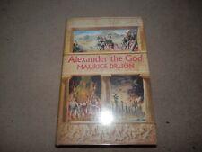 Alexander The God Maurice Druon 1st edition 1st print Hart Davis 1961 Hardback