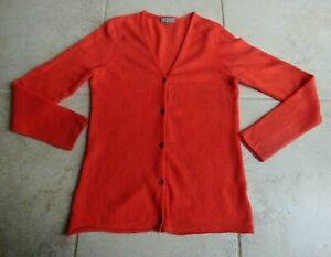 BNWOT 100% lightweight cashmere v necked cardigan by N. Peal size M