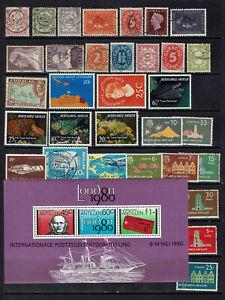 "CURAÇAO / NETHERLANDS ANTILLES ""small collection xfu, mnh - BLOCK mnh"" F004a"