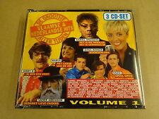 3-CD BOX / DE GROOTSTE VLAAMSE & NEDERLANDSE HITS ALLER TIJDEN VOLUME 1