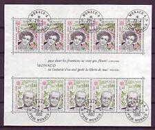 Gestempelte Briefmarken aus Europa mit Motiven von historischen Persönlichkeiten