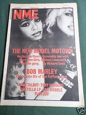 NME MUSIC MAG -30 JULY 1983 - MICK TALBOT - BOB MARLEY