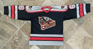 Vintage Cincinnati Cyclones ECHL Athletic Knit Hockey Jersey, Size Large