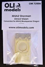 1/72 M4A2 SHERMAN Direct Vision RESIN Conversion - OLI Models 72006