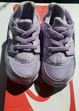 Nike Air Huarache Run SE(Toddler Size 6C) Sneaker Violet Lightly Used MSRP $60