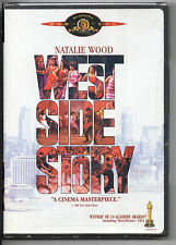 West Side Story (DVD, 2008, Canadian; Holiday O-Ring; Sensormatic; Pan and Scan)