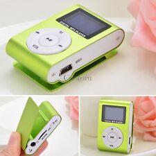 Mini Clip USB MP3 Music Player Support 32GB Micro SD TF Card FM Radio