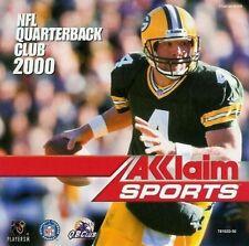 Sega Dreamcast Game-NFL Quarterback Club 2000 (with original box/case broken) 10823910