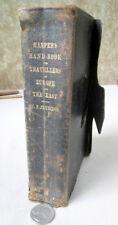 HARPER'S HAND-BOOK For TRAVELLERS In EUROPE & EAST,1869,W.P. Fetridge,Illust