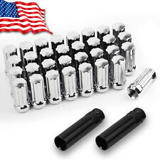 32 Chrome Spline 14x1.5 Lug Nuts fits 8 Lug Chevy GMC 2500 3500 Duramax Diesel