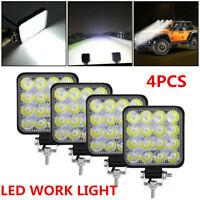 4X 48W LED LUCE FARO LAMPADA DA LAVORO FARETTO AUTO BARCA CAMION KLW SUV 12V 24V