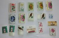 Lot mit 18 Stück Briefmarken; Bundesrepublik ungestempelt Schiffe, Blumen, etc