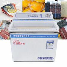 110v Commercial Vacuum Sealer Chamber 200w Food Vacuum Sealing Packing Machine