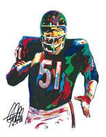 EQ307 Dick Butkus Chicago Bears Football 8x10 11x14 16x20 Photo