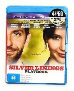Silver Linings Playbook (Blu Ray, 2012) Bradley Cooper, Jennifer Lawrence RB