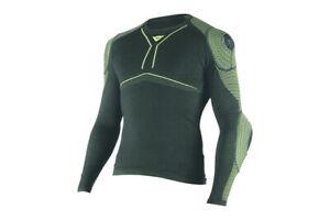 New Dainese D-Core Armor LS Shirt Men's XL Black #1915927620XL