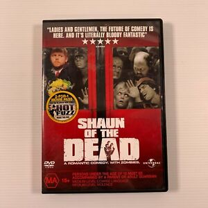 Shaun of the Dead 2004 movie DVD Simon Pegg Bill Nighy Region 4