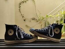 USED Converse Chuck Taylor All Star High Top Shoes, Black  M9160,  8US, 42EUR