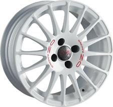OZ SUPERTURISMO WRC bianco CERCHIONE 7x18 - 18 pollici 4X100 interasse