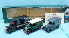 CF16/046B LLEDO / ENGLAND / COFFRET RAILWAYS PARCELS LINES VANS 1930 00 1/76