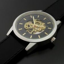 Markenlose Mechanisch-(Handaufzug) Armbanduhren mit 12-Stunden-Zifferblatt für Herren