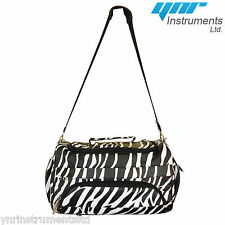 YNR Beauty Hair Makeup Tools Bag Zebra Mobile Cosmetics Case Storage Travel Bags