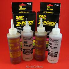 Double Pack Save $ - Zap - Pt40 - Z-Poxy - Epoxy Finishing Resin - 12 oz. Kits