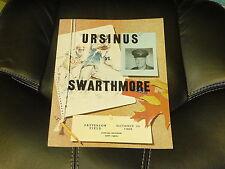 1966 SWARTHMORE AT URSINUS (PA) COLLEGE FOOTBALL PROGRAM NR MINT