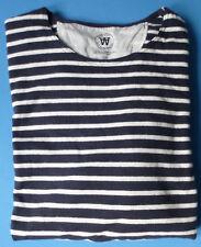 WoodWood Wood Longsleeve Pullover Shirt Gr. L Size large gestreift breton