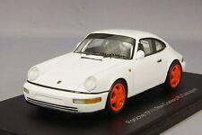 Spark 1/43 Porsche 911(964) Carrera Clubsport White/Orange Lims from Japan